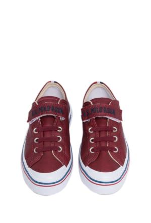 U.S. Polo Assn. Erkek Çocuk K6Alex Ayakkabı Kırmızı