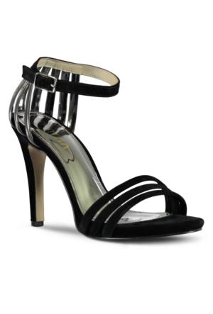 Marjin Utu Topuklu Ayakkabı Gümüş