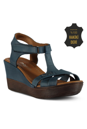 Marjin Care Dolgutopuk Sandalet Mavi