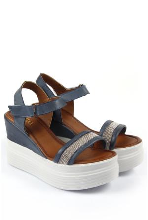Gön Deri Kadın Sandalet 45220
