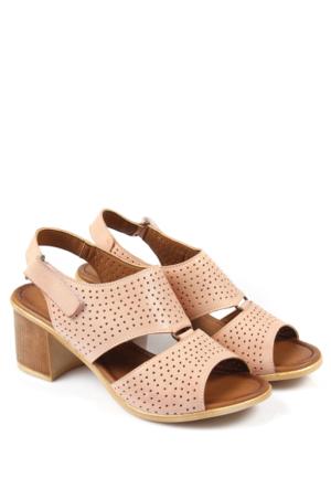 Gön Deri Kadın Sandalet 45302