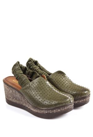 Gön Deri Kadın Sandalet 45408