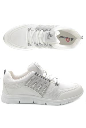 Letoon 0200 Beyaz Erkek Spor Ayakkabı