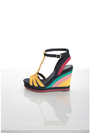 Tommy Hilfiger Kadın Sandalet Fw0Fw00330 901 V1285Ancouver 1S