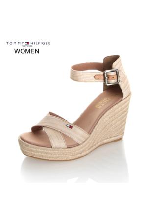Tommy Hilfiger Kadın Sandalet Fw0Fw00442 102 L1385Una 1D1