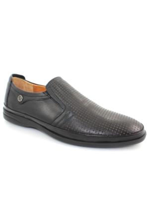 Bemsa 2030 Siyah Günlük Deri Erkek Ayakkabı