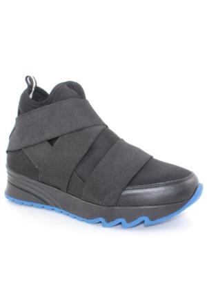 Shoe&Me 16301 Siyah Kadın Bot