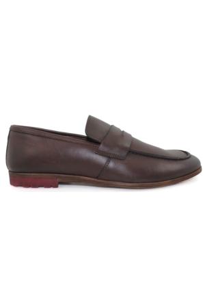 Yakut Cho West 3074 Kahverengi Günlük Deri Erkek Ayakkabı
