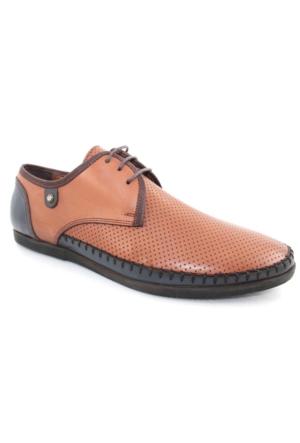 Yakut 2098 Taba Günlük Deri Erkek Ayakkabı