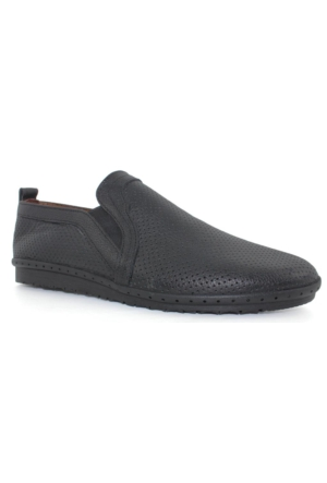 Yakut Cho West 3071 Siyah Deri Günlük Erkek Ayakkabı