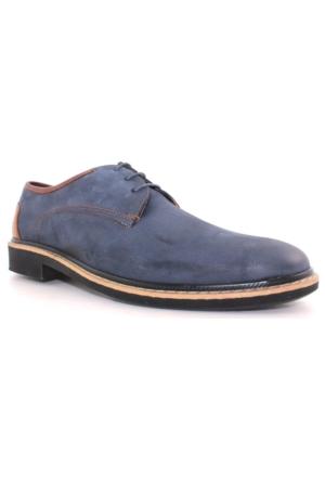 Yakut Cho West 3169 Lacivert Deri Günlük Erkek Ayakkabı