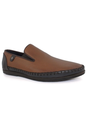 Yakut Cho West 2099 Taba Erkek Deri Günlük Ayakkabı