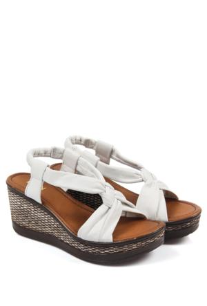 Gön Deri Kadın Sandalet 45402