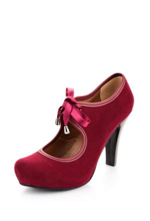 Edways Lacivert Bayan Ayakkabı