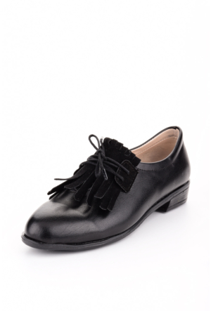 Edways Siyah Bayan Ayakkabı