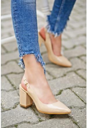 İnce Topuk Topuklu ayakkabı 7YAZA0296844