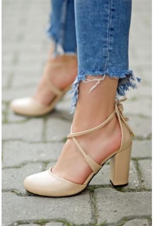 İnce Topuk Topuklu Ayakkabı 7YAZA0314074