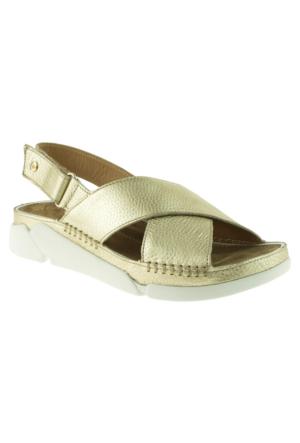 Greyder 51291 ZN Urban Casual Altın Bayan Sandalet