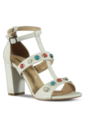 Marjin Kadın Topuklu Ayakkabı S7Y-Kunte