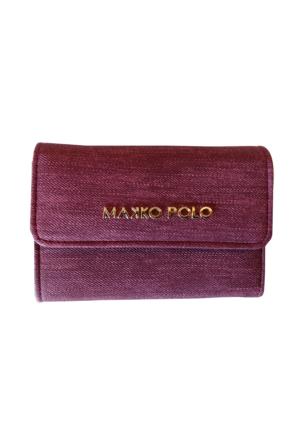Makko Polo Kot Kumaş Lüx Cüzdan