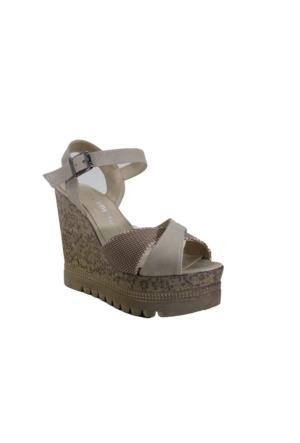 Oflaz Y-182 Günlük Kadın Dolgu Sandalet
