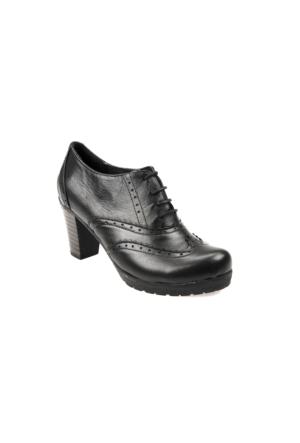 Ziya Kadın Ayakkabı 6326 09-1 Siyah