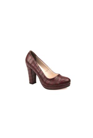Ziya Kadın Ayakkabı 6328 0172 Bordo