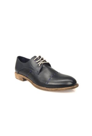 Uniquer Erkek Hakiki Deri Ayakkabı 71129U 14102 Lacivert