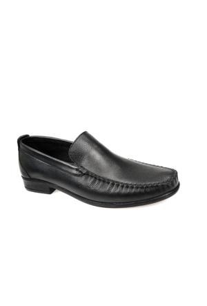Ziya Erkek Hakiki Deri Ayakkabı 7171 105 Siyah