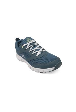 Kinetix Almera Petrol Beyaz Erkek Fitness Ayakkabısı