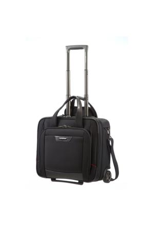 Samsonite Pro-Dlx 4 Tekerlekli Evrak/Laptop Seyahat Çantası