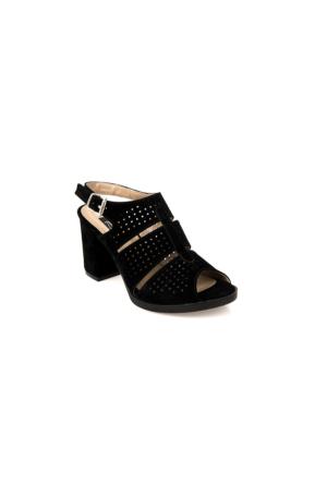 Ziya Kadın Sandalet 71128 5001 Siyah