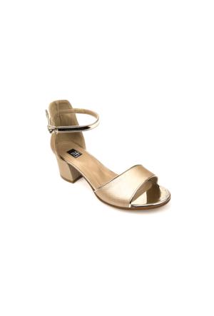 Ziya Kadın Sandalet 71128 6004 Altın