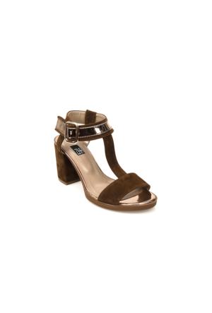 Ziya Kadın Sandalet 71128 5003 Taba