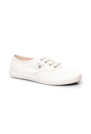 Gant New Haven Kadın Beyaz Sneakers 14538591.G29