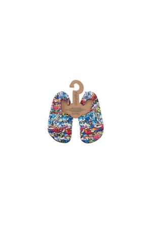 Slipstop Hiphop Junior Çocuk Renkli Havuz Ayakkabısı SS17110188