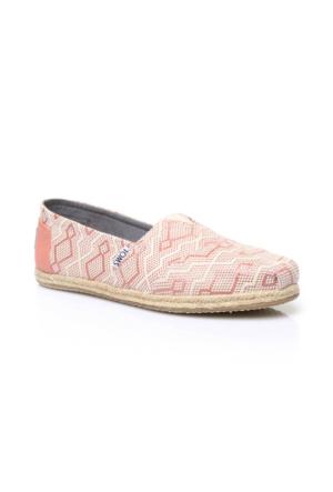 Toms Alpargata Bej Kadın Ayakkabı 10009701