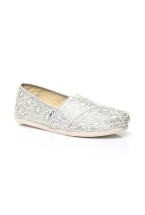 Toms Alpargata Gümüş Kadın Ayakkabı 10009299