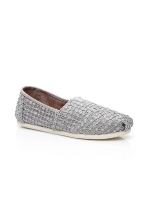 Toms Alpargata Gümüş Kadın Ayakkabı 10009728