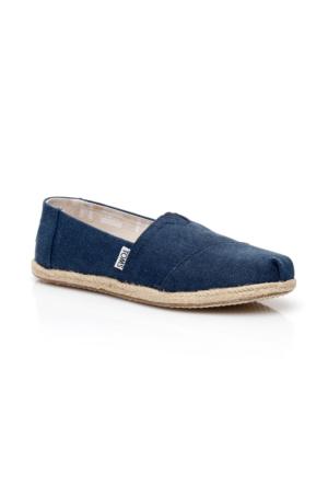Toms Alpargata Lacivert Kadın Ayakkabı 10009758