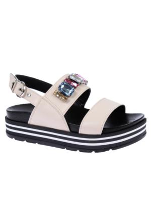 Shalin Szr 140 Bej Bayan Ayakkabı