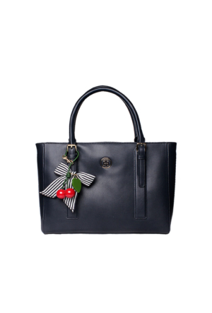 Tommy Hilfiger Midnight Mix Aw0Aw03818 Tommy Cherry Tote Çanta