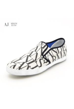 Armani Brown Tan Orange V653121U1 U1 Bianco - White Armani Ayakkabı