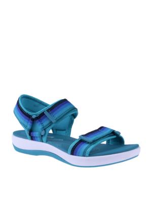 Clarks Blue 261249764 Brizo Ravena Clarks Sandalet