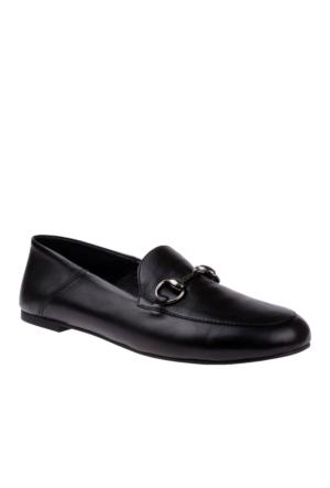 John May Black Po- 6415 Fs Ladies Footwear John May Ayakkabı