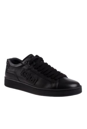 Kenzo Black M60841 E17 Tennix Nappa Uni Ayakkabı