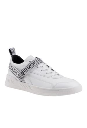 Kenzo White M68549 Calvin Nappa Uni Ayakkabı