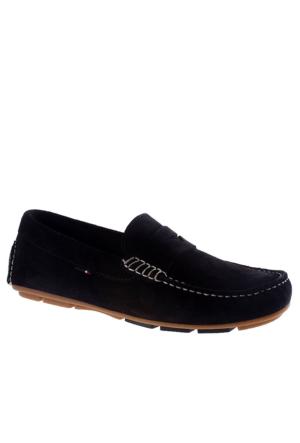 Tommy Hilfiger Dark İndigo Fm56820965 Tommy Hilfiger A2285Lfa Hilfiger 5B Ayakkabı