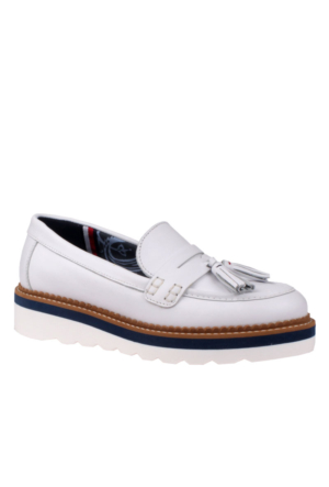 Tommy Hilfiger White Fw0Fw01039 Tommy P1285Aulina 1A Ayakkabı