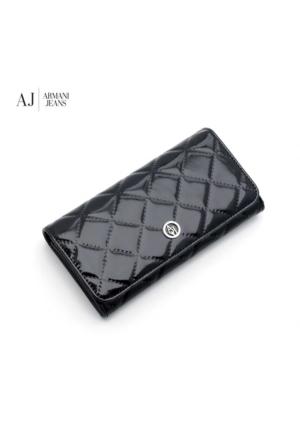 Armani Nero Black B5V41V412 Armani Wallet Nero - Black Armani Cüzdan